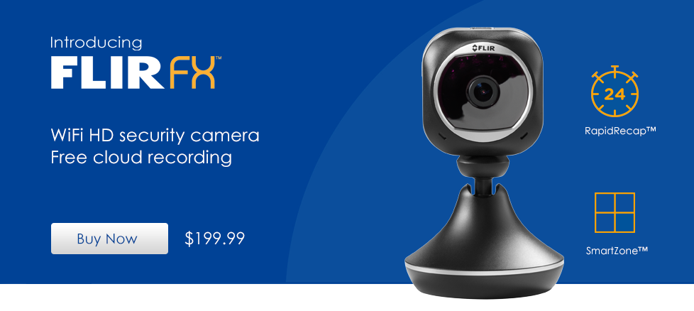 FLIR FX - Wifi security camera