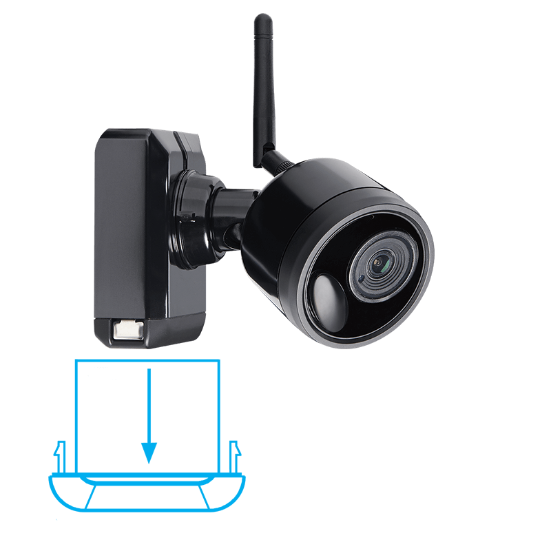 lithium ion security camera battery