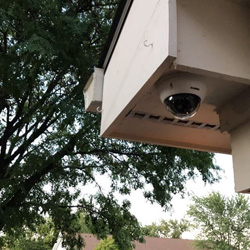 Dome Security Camera Ceiling Mounted 185
