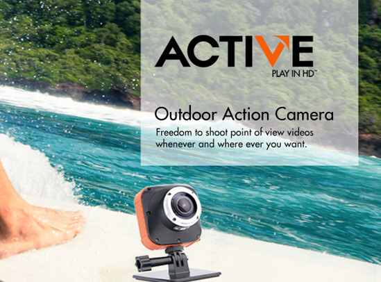 Active - high definition video recording