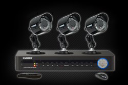 security camera system with DVR