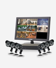 security system with cameras