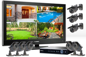 High Definition surveillance camera system with 27