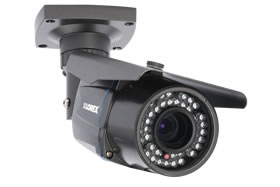 Outdoor security camera with varifocal lens - 165FT Night vision
