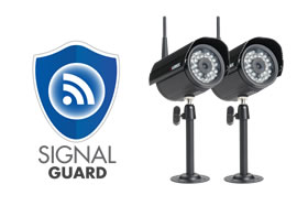 Wireless security surveillance cameras
