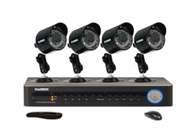 Home security camera system with Night vision security cameras