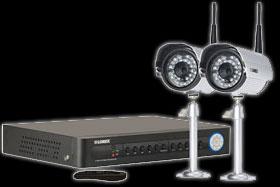 Video surveillance system - 2 camera security system
