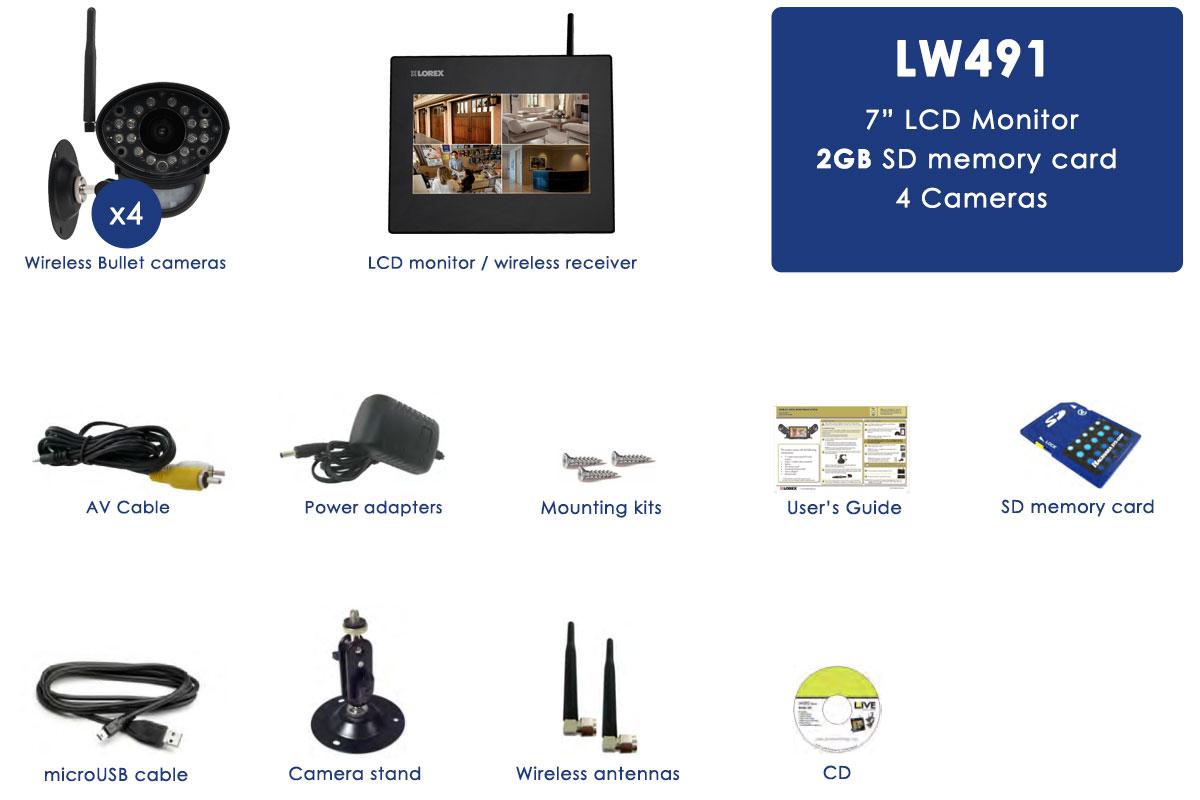 Wireless Home Security Camera System | Lorex