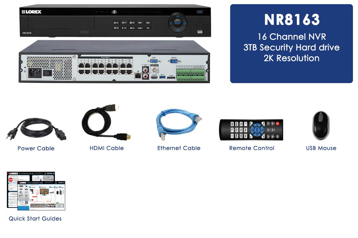 2k extreme hd security system nvr 16 channel - Nvr Security System