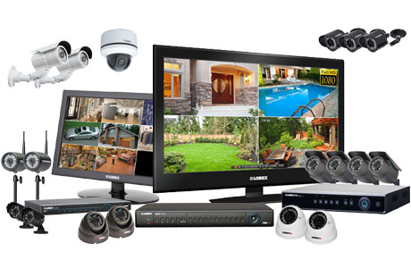 Versatile security camera systems