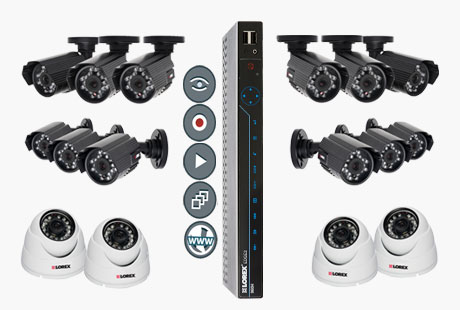 small security cameras system