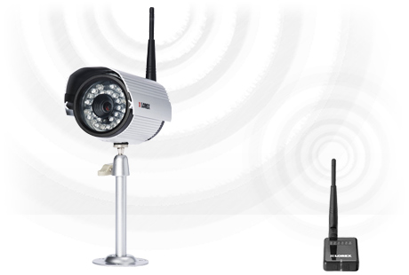 wireless camera with no video cable
