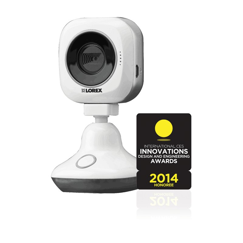 Lorex Innovation Awards 2014 for HD Wi-Fi baby monitor with night vision