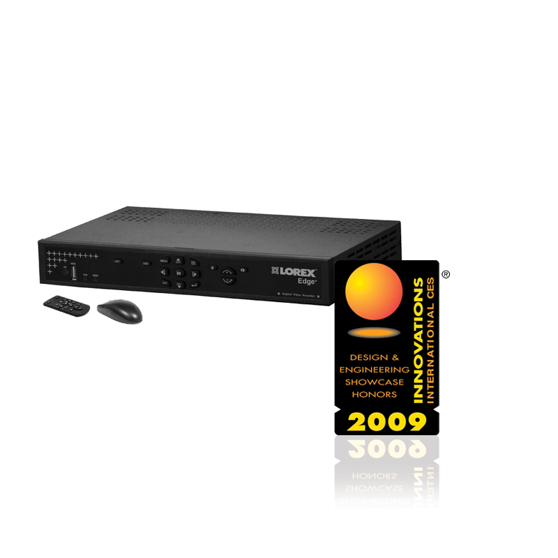 Innovation Award 2009 Lorex CES Innovation Award EDGE DVR Video Component