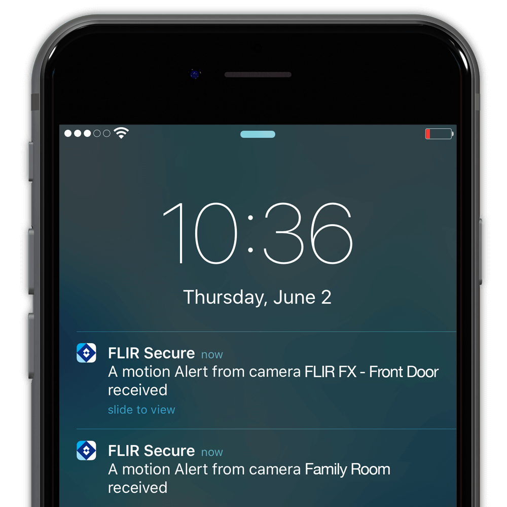 Security Camera Motion Activated Alerts On Your Smartphone And Tablet