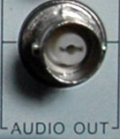 BNC audio output