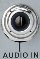 RCA Audio Input port