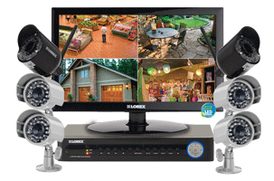LED Monitor Security system