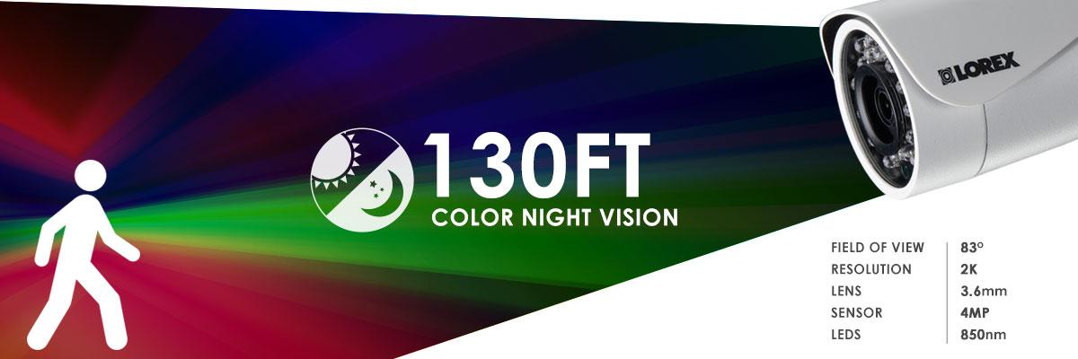 LBV2711B night vision range