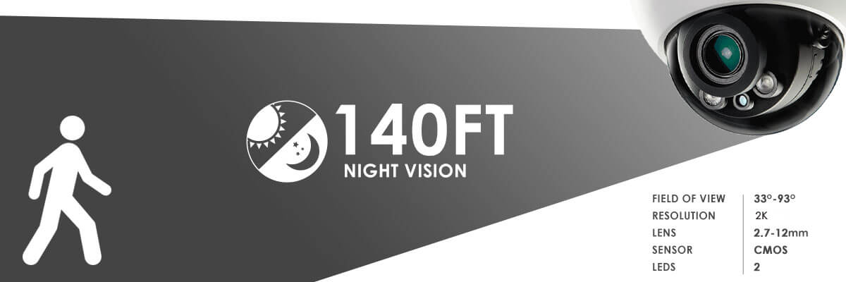 LND3374B Night Vision Range