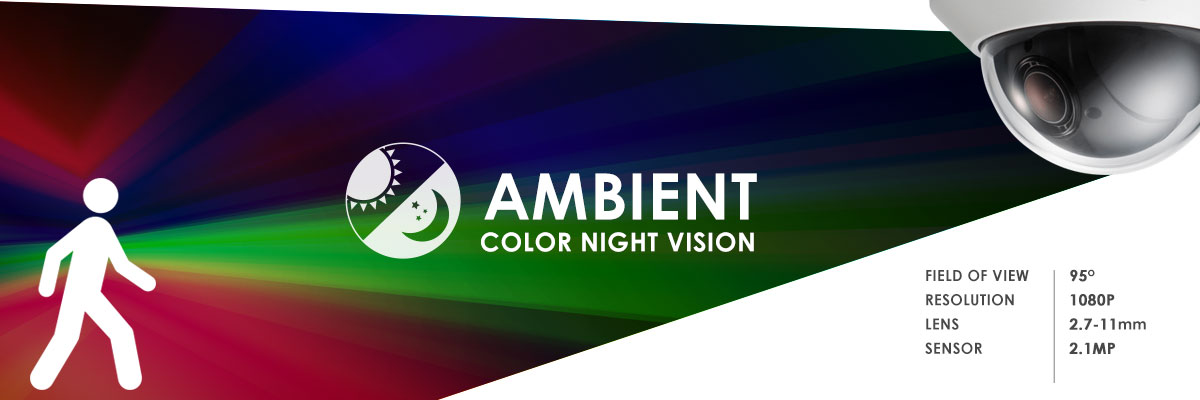 color night vision security camera