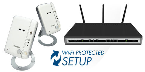 easily connect your IP camera using WPS