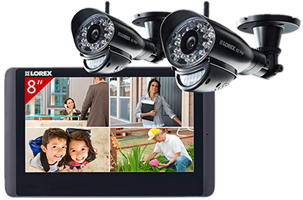 Wireless home camera systems