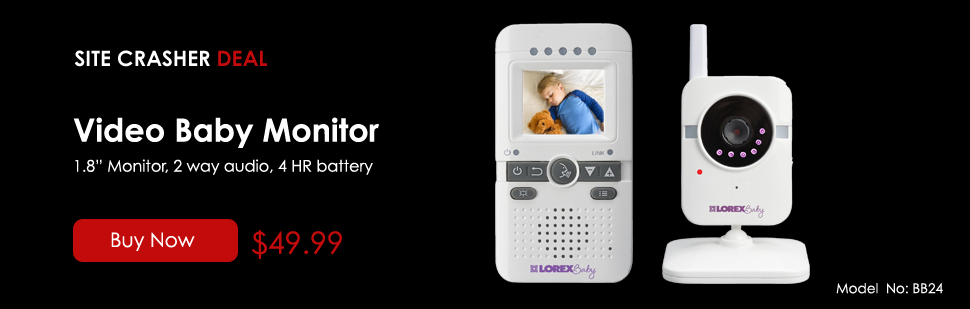 video baby monitor - $49.99