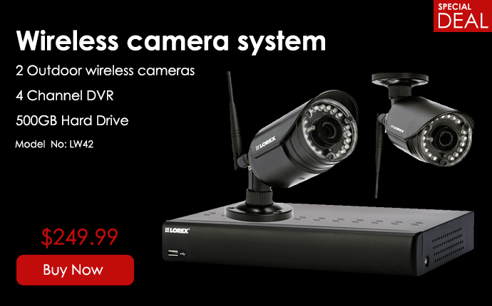 wireless camera system - $249.99