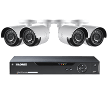 FLIR security camera system with Rapid Recap
