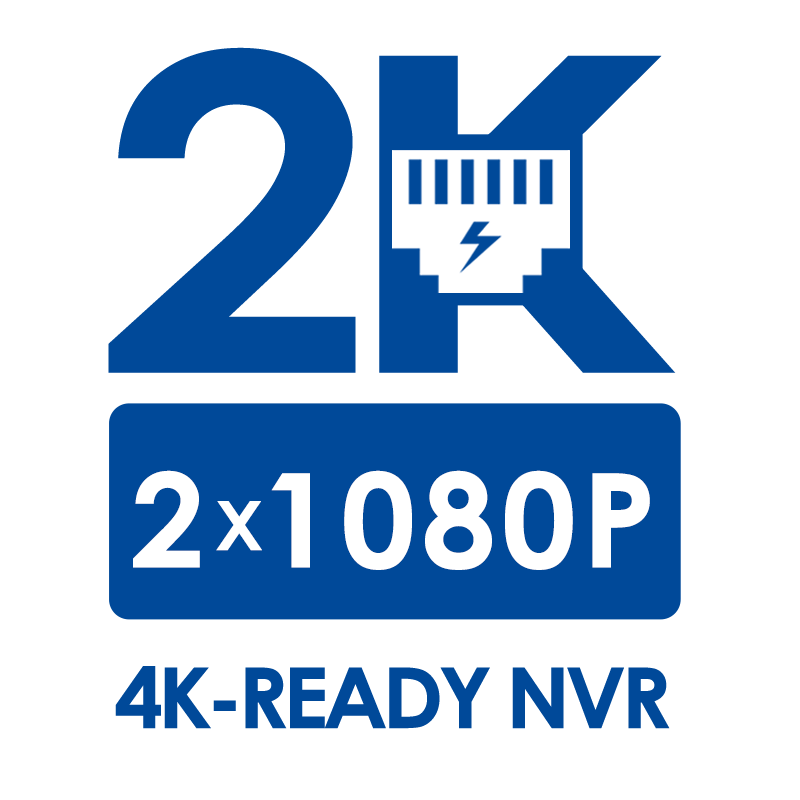2K HD IP NVR systems
