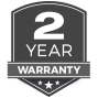 Exclusive 2 Year Full Warranty