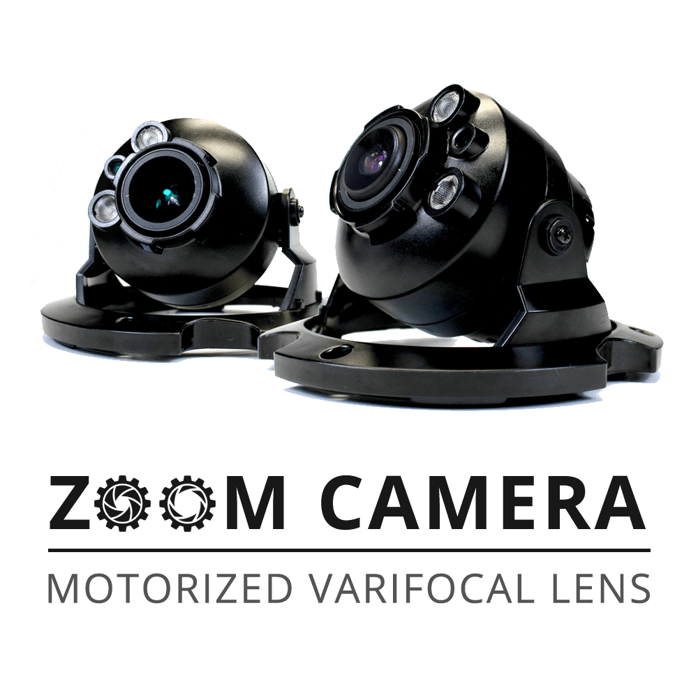 zoom lens dome security camera