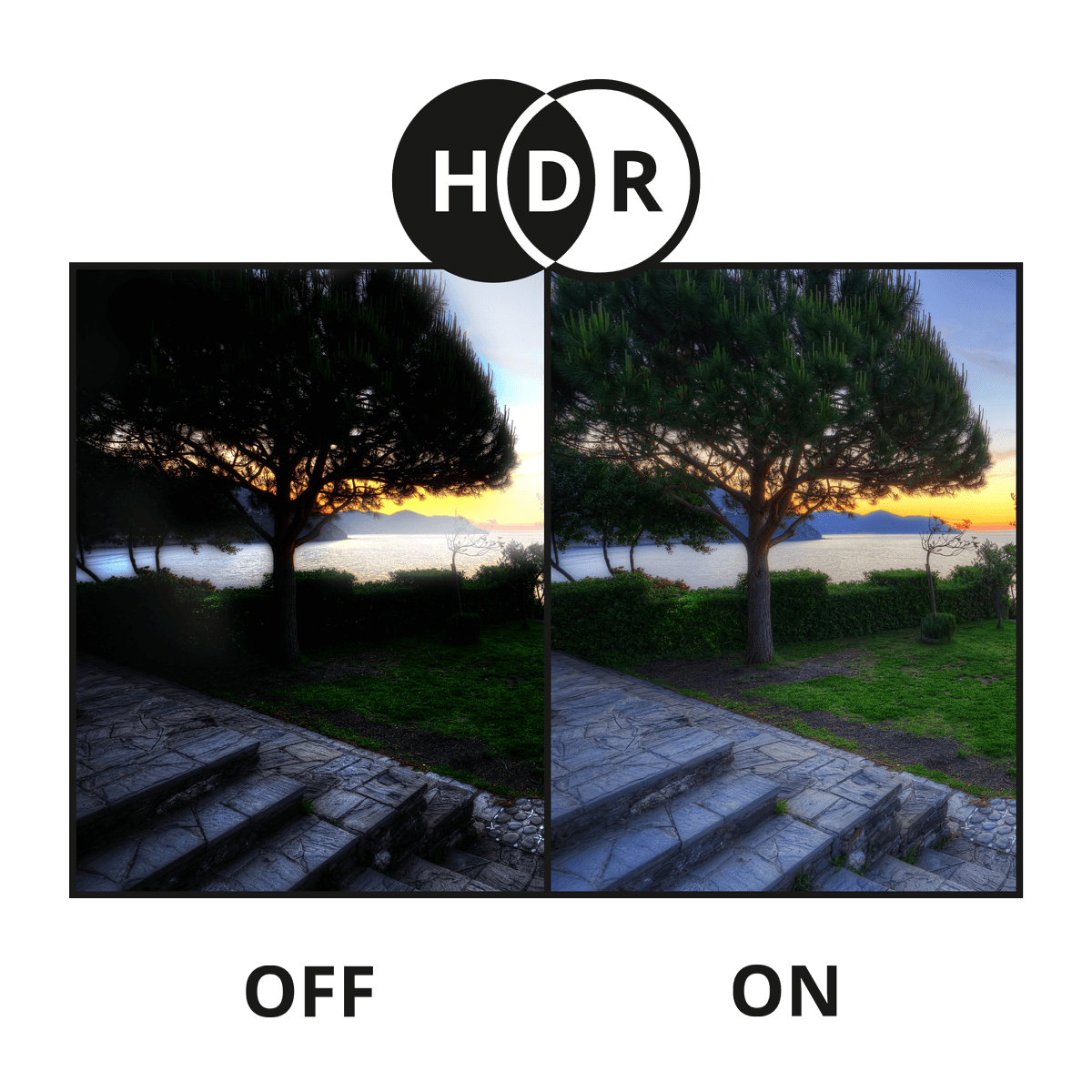 High Dynamic Range example