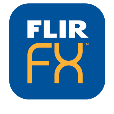 FLIR FX app for iOS and Android