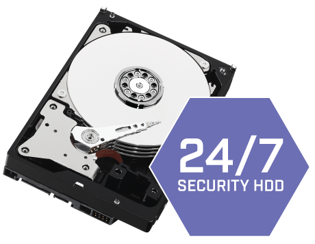 Security-grade hard drive