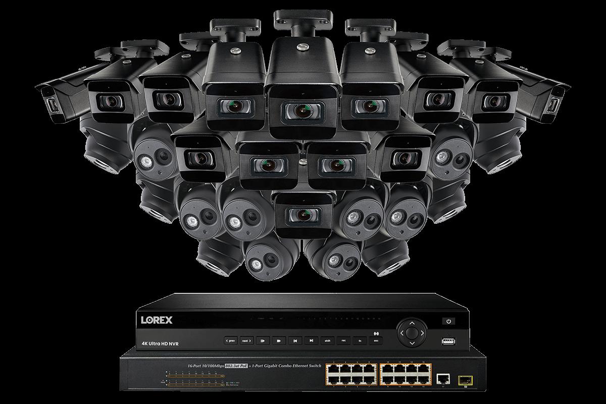 ACCDPS262B model FLIR 16 Port  poE LAN port Switch