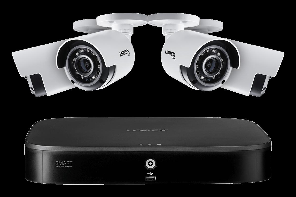 8MP HD camera home security system Lorex 4KA84-2