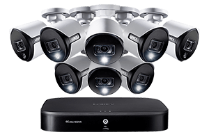 Deals on Lorex 4K 8-Channel Security System w/8 Active Deterrence Cameras