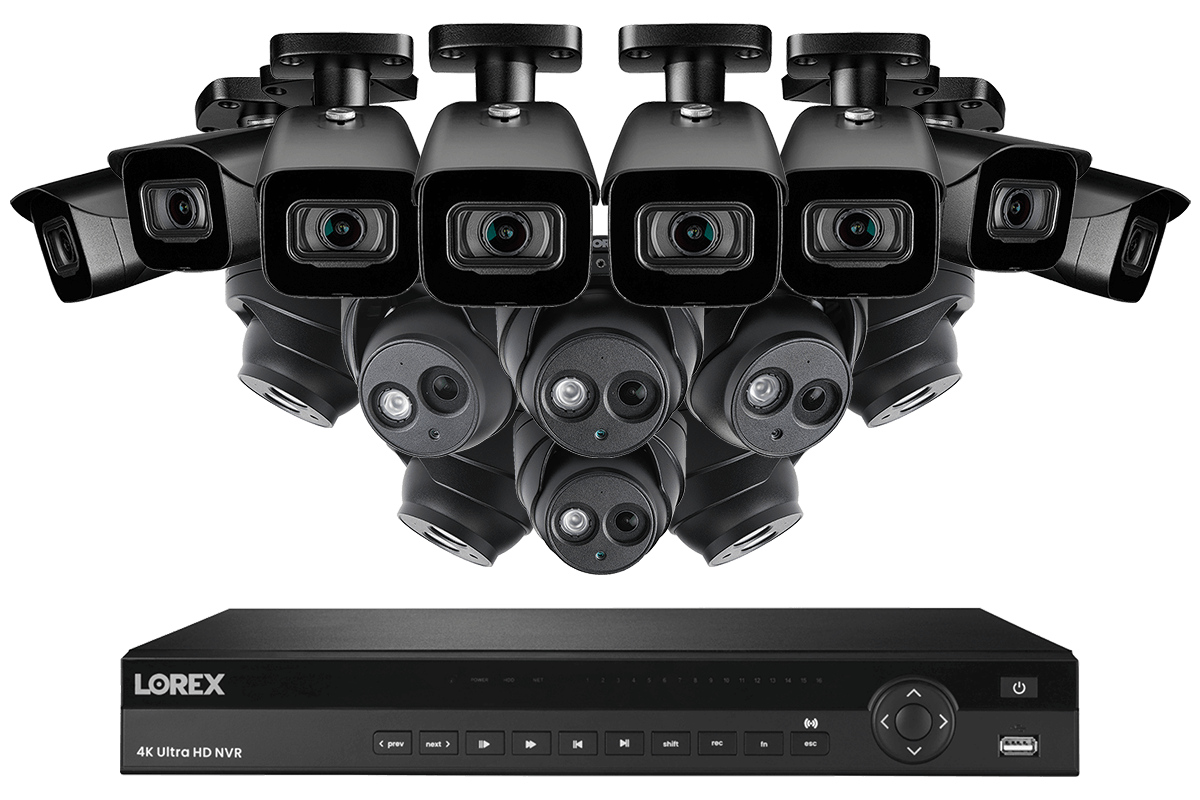 4KHDIP1688N nocturnal security camera system from Lorex