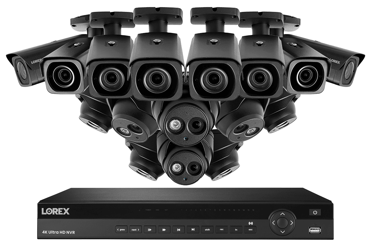 4KHDIP1688NV nocturnal security camera system from Lorex