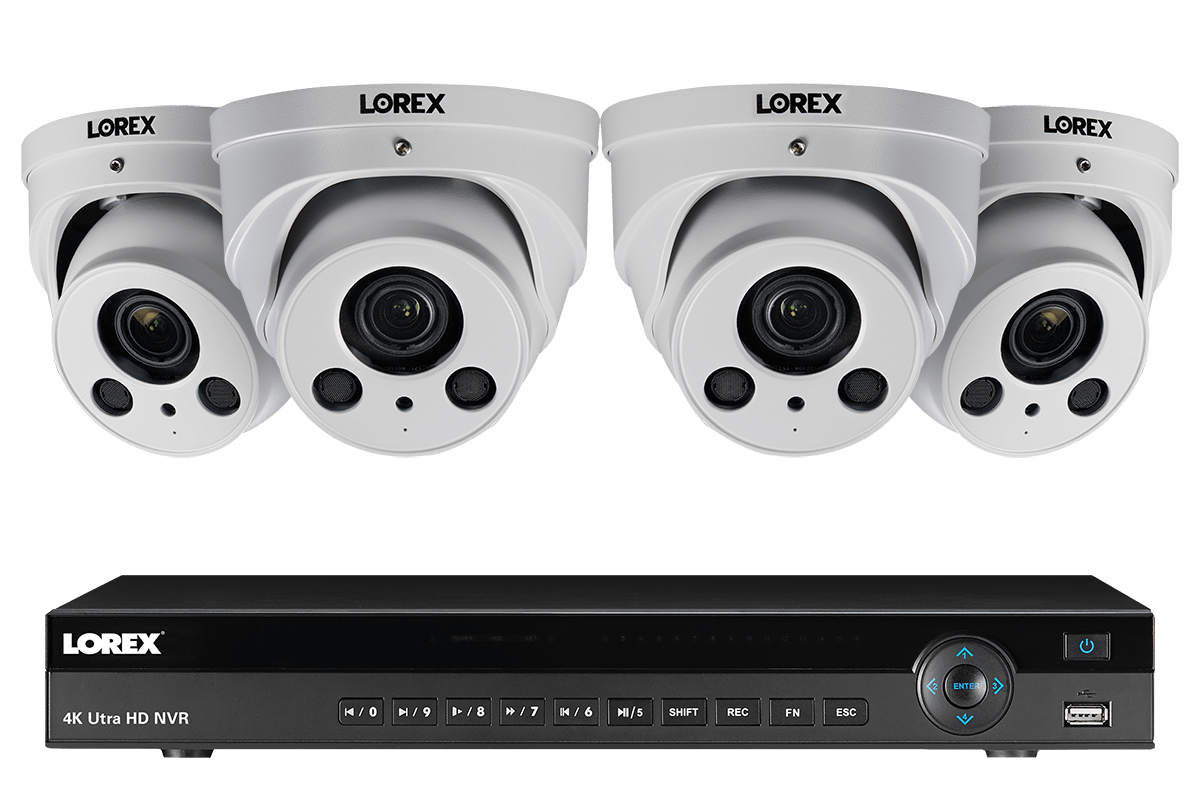 4KHDIP822NWW 4K nocturnal security camera system