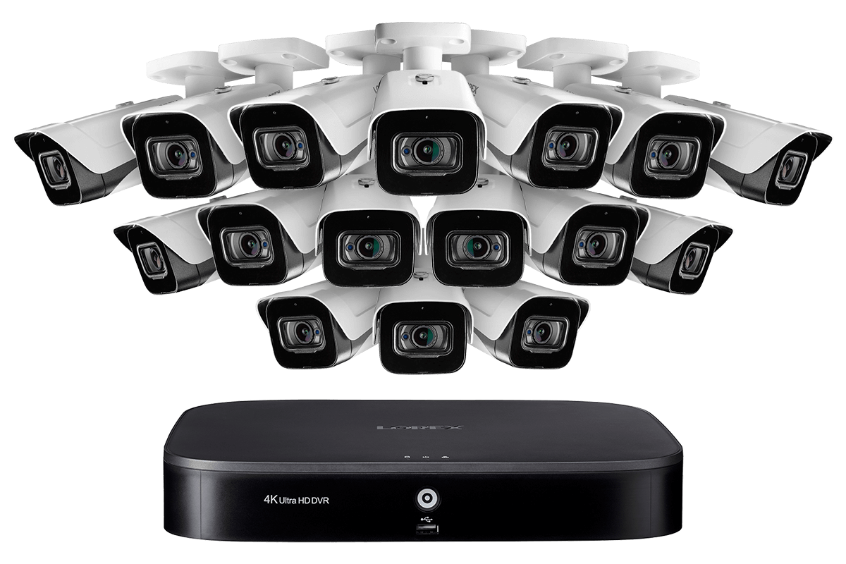 4KMPX1616 16-Channel 4K DVR Security System