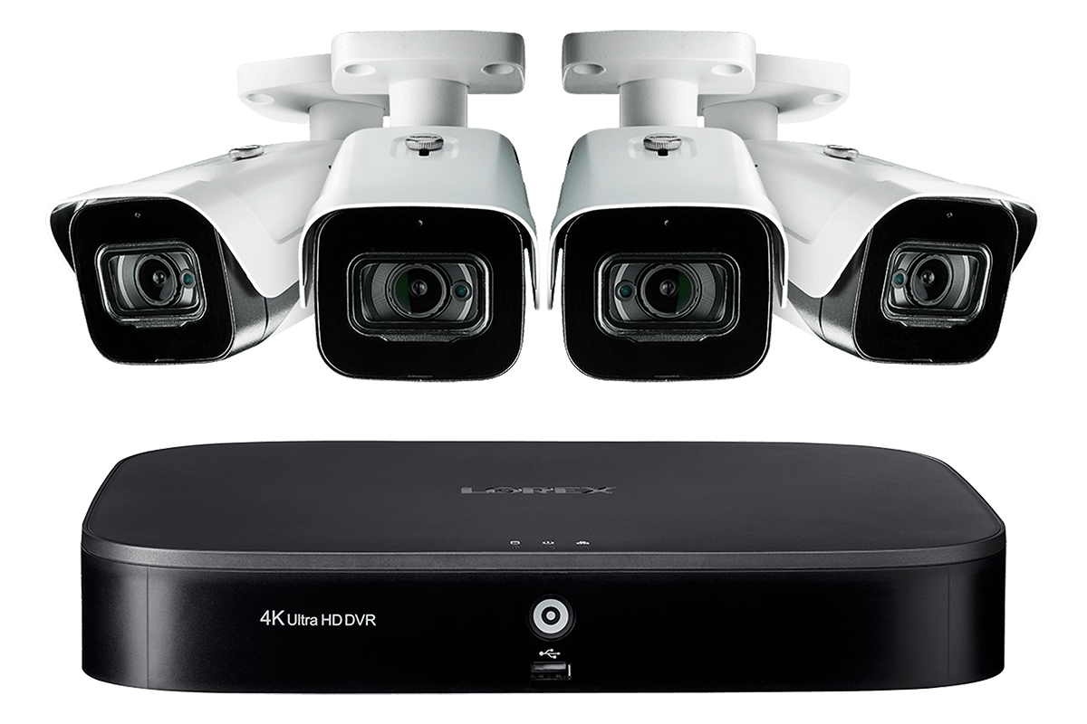 4KMPX44 Ultra HD 4K home or business security system
