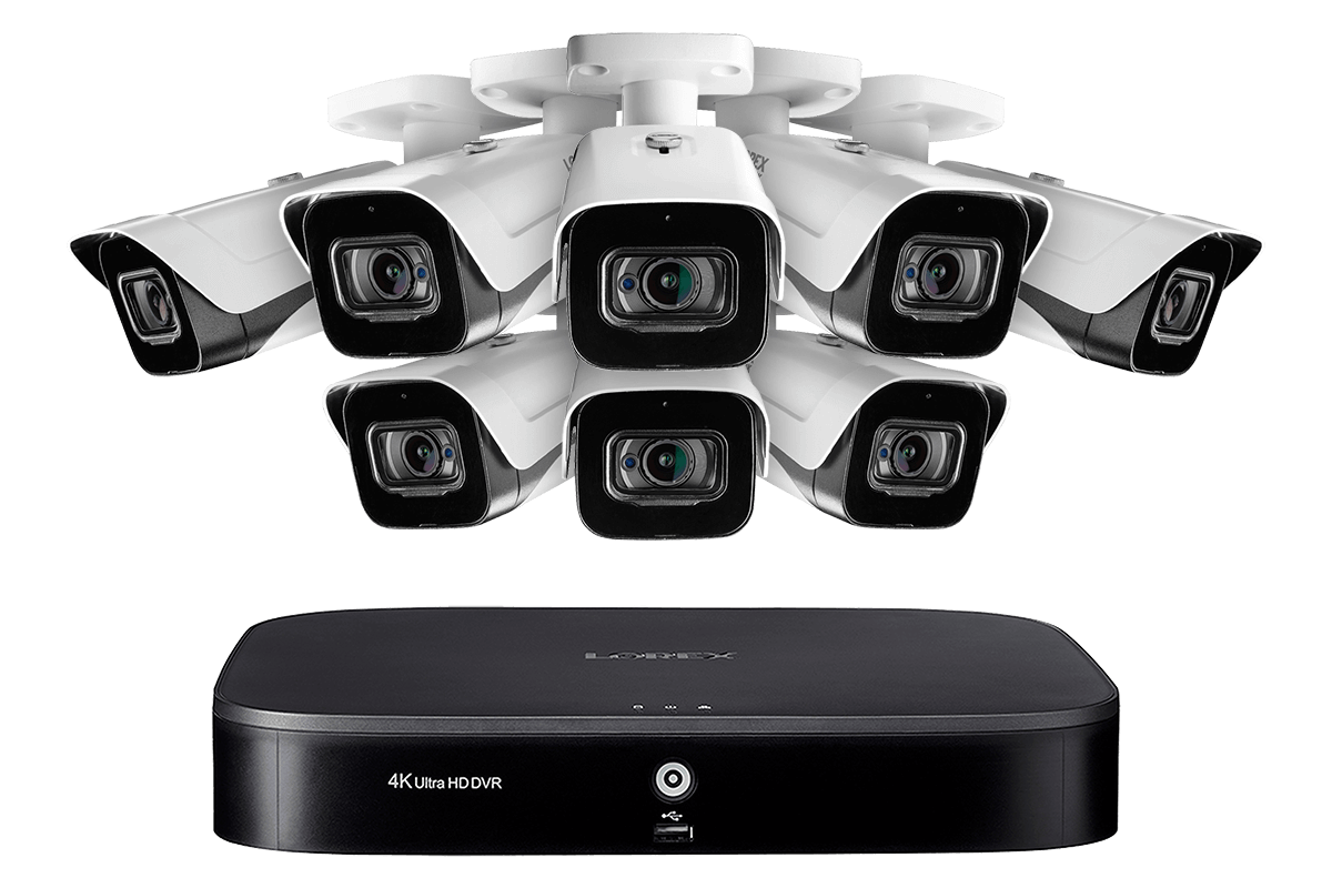 4KMPX88 Ultra HD 4K home or business security system