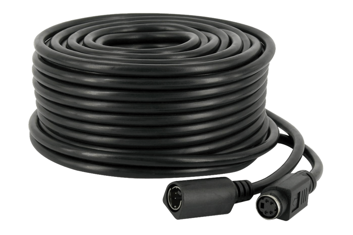 4 PIN DIN 60FT security extension cable