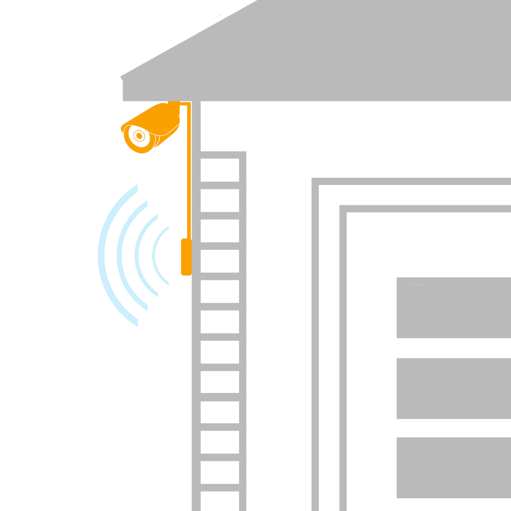 extend wireless security camera signal with booster antenna from lorex