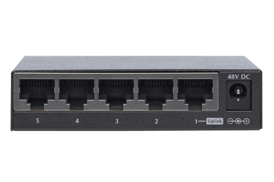 4-Channel High Power PoE Switch