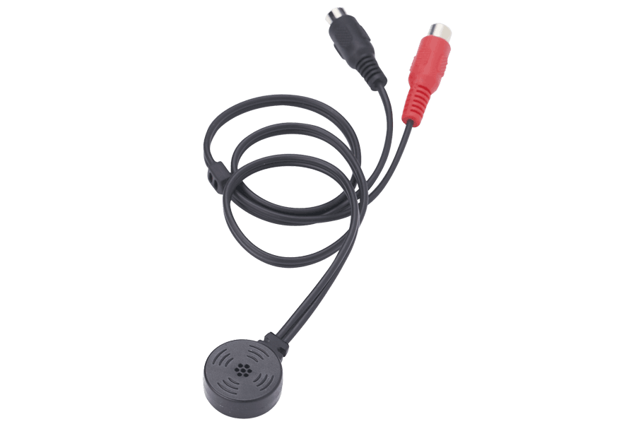 Security surveillance microphone