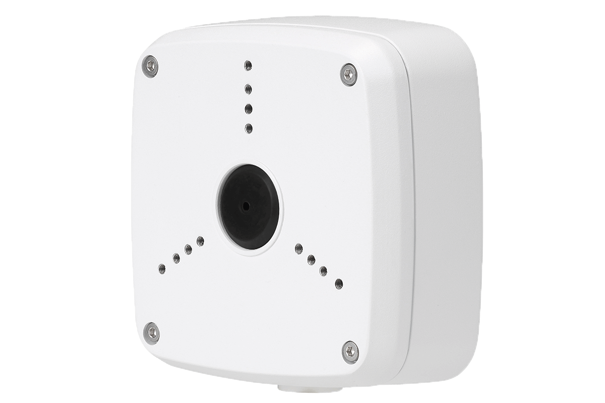 Security camera junction box
